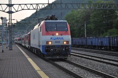 2012年5月韓国鉄道旅行4(嶺東線・太白線)