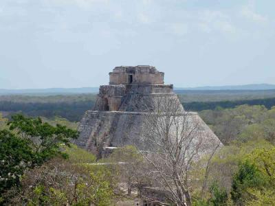 メキシコ・古代文明 ウシュマル