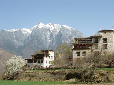 中国の旅、チベットを求めて その13-丹巴・中路