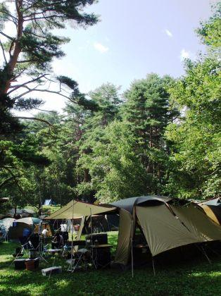 恒例 家族de避暑っちゃお! 松原湖高原の夏休み2011 (キャンプ場編)