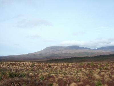 荒涼としたトンガリロの大地 NZドライブ紀行 2012.05 vol.12