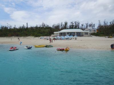 2011年8月 真夏の沖縄姉妹旅行 Again #1 ~ 初日は急いで水納島へGO!