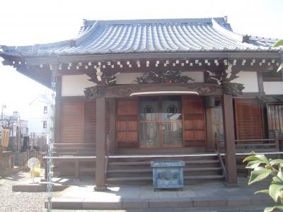 武蔵品川海蔵寺散歩