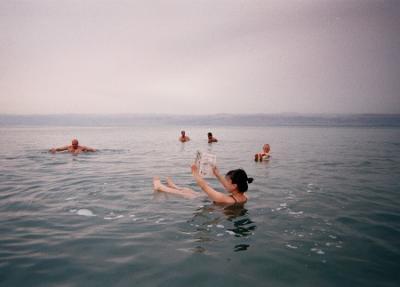 【 2002年 中東旅行 】 ~ヨルダン 死海~