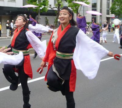 第21回YOSAKOIソーラン祭り(2012年)平岸会場2(gnome、REDA舞神楽ほか)
