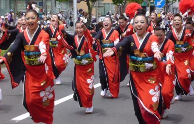 第21回YOSAKOIソーラン祭り(2012年)平岸会場3(The日本海&北國新聞ほか)