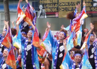 第21回YOSAKOIソーラン祭り(2012年)平岸会場4(花昇舞、若柳よさこい桜ほか)