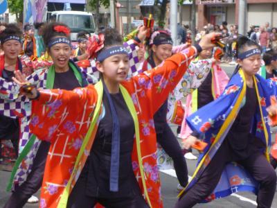 第21回YOSAKOIソーラン祭り(2012年)平岸会場7(平取義経なるこ会ほか)