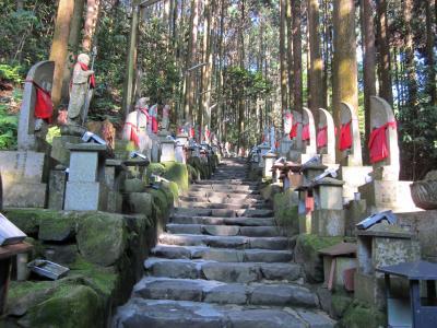 奈良宝山寺裏参道を登る