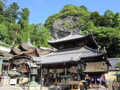 宝山寺と奥ノ院