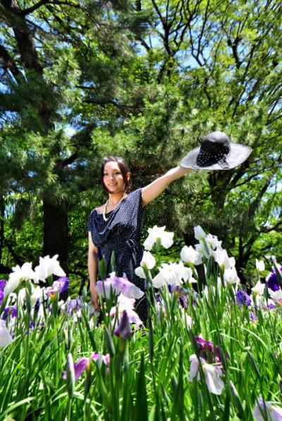 九華公園花菖蒲まつり