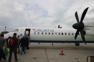 イタリア~クロアチア新婚旅行(8日目:ザグレブ→LX160便で帰国)