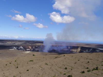 溶岩を見にハワイ島に行ってきました!
