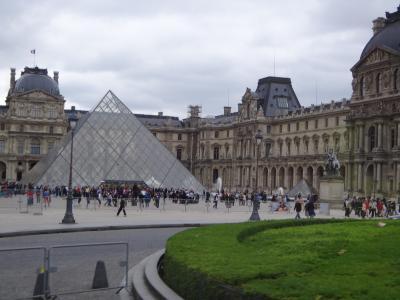 20年ぶり!高齢の母と行くフランス*パリ市内散策*タクシードライバーに騙されました!