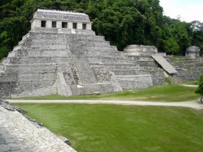メキシコ世界遺産を訪ねて パレンケ遺跡 ?9