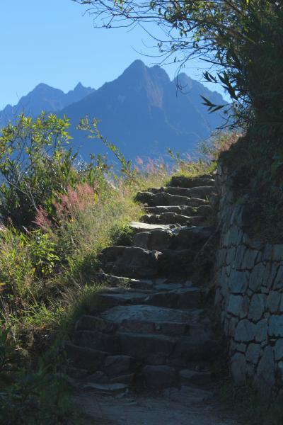 あこがれ続けた『遥かなるペルー』の旅 光と影とインカ帝国。。。 【6日目】 インカ道 「インティプンク(太陽の門)」へ…