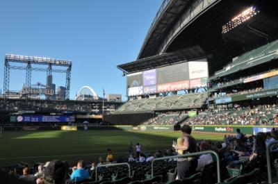 2011年シアトル旅行記 その6 セーフコフィールドに入る