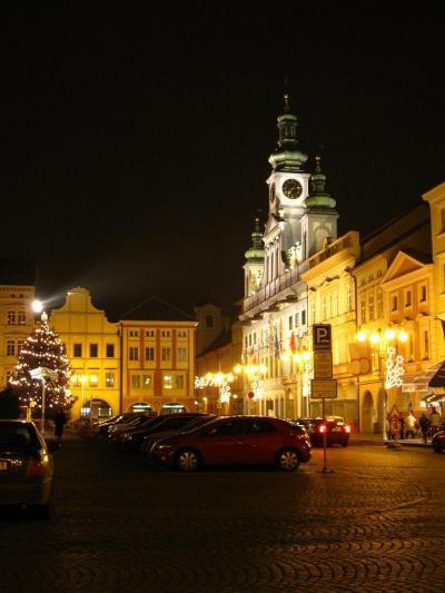 クロアチア、スロヴェニア、ドイツ、チェコ、スロヴァキア、オーストリア クリスマスシーズンの鉄道の旅 7:チェスキークルムロフ(ブディェヨヴィチェ)