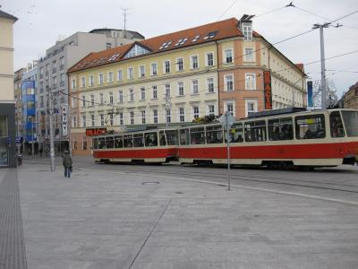 クロアチア、スロヴェニア、ドイツ、チェコ、スロヴァキア、オーストリア クリスマスシーズンの鉄道の旅 8:ブラチスラヴァ