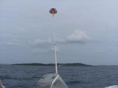 アラ7おかん 沖縄の空を飛ぶ!
