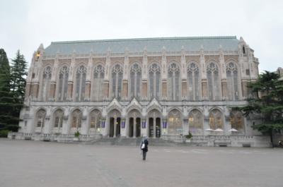 2011年シアトル旅行記 その10 ワシントン大学を見学し、帰国