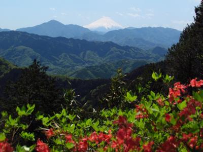 高尾山から相模湖へ徒歩の旅