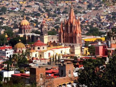 サンミゲル デ アジェンデ ~メキシコの小さなアートタウン~