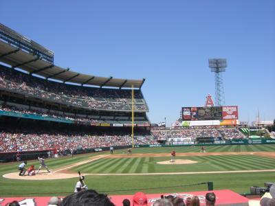ロサンゼルスメジャーリーグ観戦とグランドキャニオン