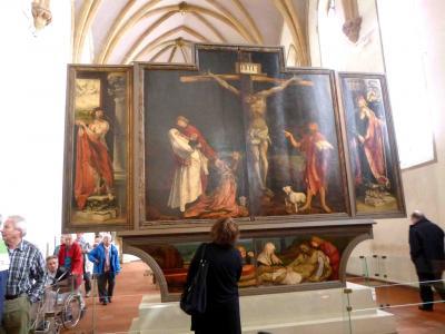2012(6) ドイツ国境を越えて日帰りの旅① 「イーゼンハイム祭壇画」を見るためだけにコルマールへ☆