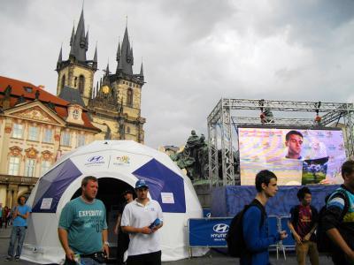 ユーロ2012パブリックビューイング巡り 1.プラハでチェコvsギリシャ戦観戦