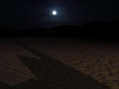 GWひとりシルクロードプチ旅14★敦煌★幻想的な夜の砂漠と沙州夜市