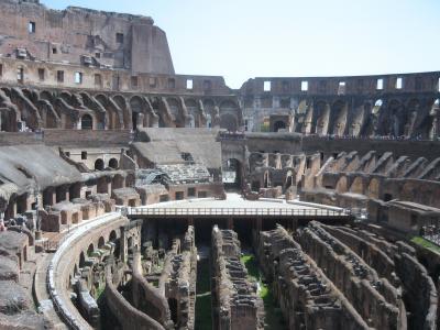 母と娘のローマの休日 (ちょっぴりフィレンツェも) 2日目 午後・ローマ観光