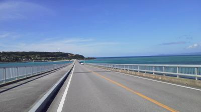 沖縄は梅雨明け宣言、ニヤけるくらいに快晴なり。