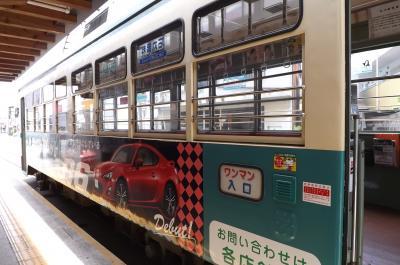 高知旅行:路面電車の旅~いの駅から上町一丁目駅