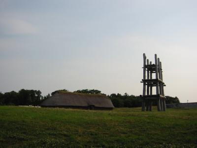 ●散歩しながら遺跡見学~青森の縄文②三内丸山遺跡●