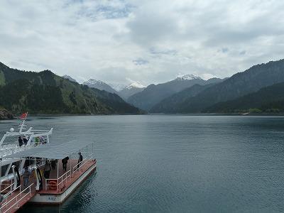 Go West !♪天池・天山山脈に抱かれた聖なる湖、ここも中国!シルクロードへの旅(?)