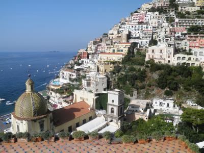 南イタリア2010旅行記 【23】アマルフィ海岸2(ポジターノ2)