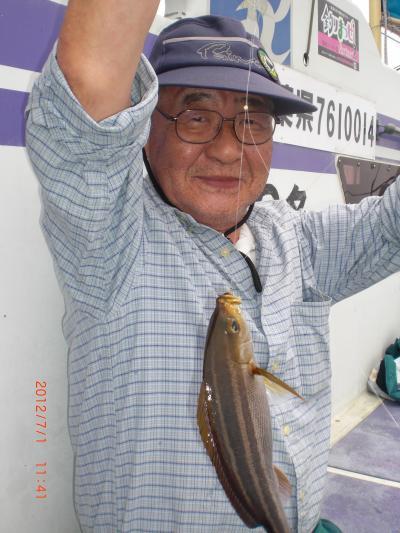 安房丸釣日記2012-7