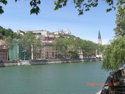39 Lyon 街歩き :2008 初夏を楽しむ4週間 SNCF3600KM