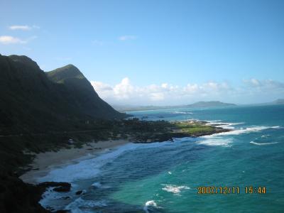Oahu島:マカプウ・ポイント 2007 12 11