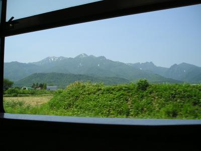 根室本線、夏景色