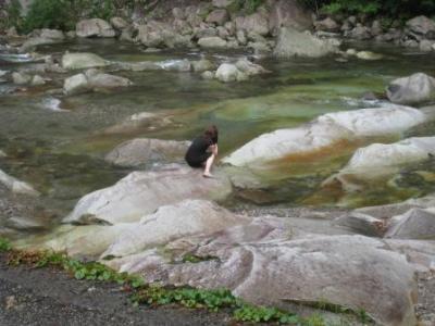 【愛媛】 山ガール西日本最高峰に女人禁制で入山できず in 石鎚山&大雨の面河渓