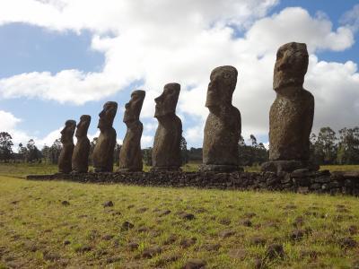 イースター・ガラパゴス旅行(5)イースター島 南東部観光