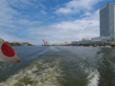 北海道へフェリーで−2 その前に 新潟散歩 信濃川クルーズ−2
