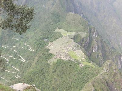2012 GW ペルー旅行07:念願のワイナピチュ登山 絶景!上から眺めるマチュピチュ
