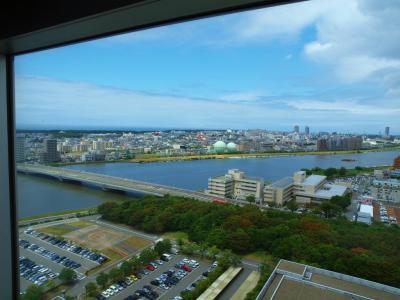 北海道へフェリーで−3 その前に 新潟散歩 県庁展望回廊