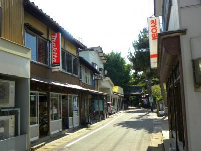 北海道へフェリーで−4 その前に 新潟散歩 どこか懐かしい町 亀田の街並み