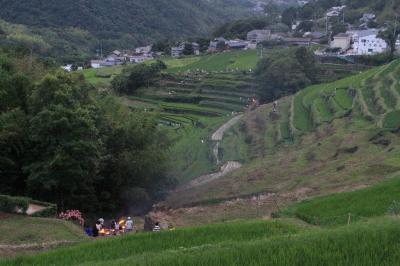 小豆島中山虫送り2012