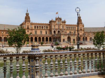 セビリア(アルカサル、美術館、スペイン広場)/スペイン旅行 18日間(11)