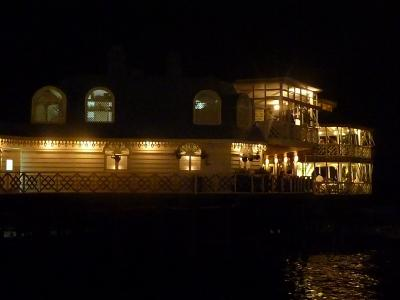 msa900南米9章周遊旅情⑥豪華客船のようなレストラン「ロサ・ナウティカ」で最後の晩餐 in リマ
